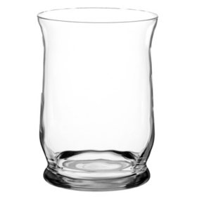 "6"" Hurricane Vase, Crystal (4 ct.)"