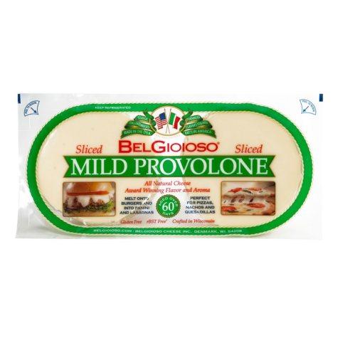 BelGioioso Sliced Mild Provolone (2 lb.)