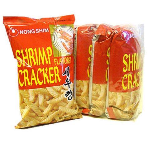 Nong Shim Shrimp Cracker - 5/2.6 oz. bags
