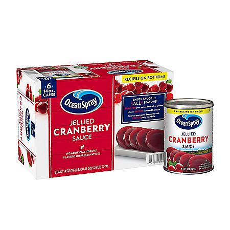 Ocean Spray Jellied Cranberry Sauce (14 oz., 6 pk.)