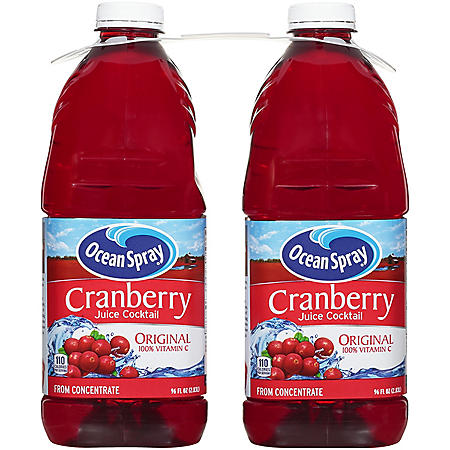 Ocean Spray Cranberry Cocktail Juice (96oz / 2pk)