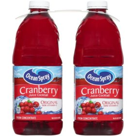 Ocean Spray Cranberry Cocktail Juice (96 oz., 2 pk.)