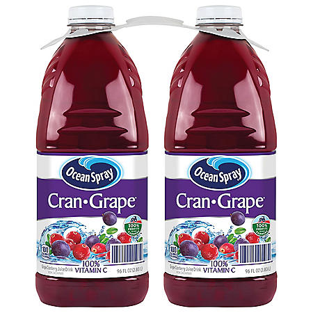 Ocean Spray Cran-Grape Juice Drink (96 fl. oz., 2 pk.)