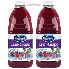 Ocean Spray Cran-Grape Juice Drink (96 oz. ea., 2 pk.)
