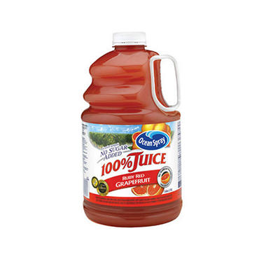 Ocean Spray Ruby Red Grapefruit Juice - 1 gal.