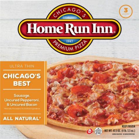 Home Run Inn All Natural Thin Crust 3-Meat Pizza (67.5 oz., 3 pk.)