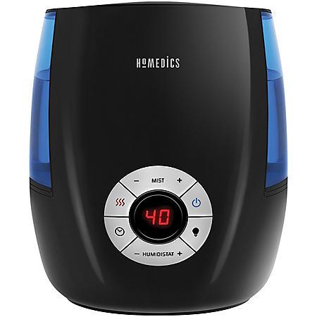 HoMedics Warm and Cool Mist Ultrasonic Humidifier