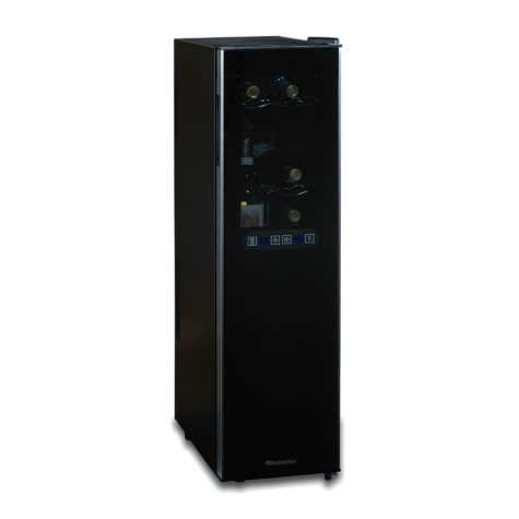 Wine Enthusiast Silent 18-Bottle Dual-Zone Slimline Wine Refrigerator