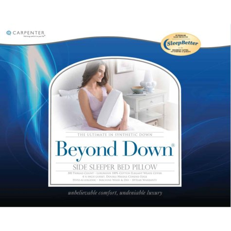 Beyond Down Side Sleeper Pillows, 2 Pack