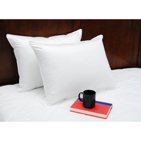 Slumberfresh 400-Thread-Count Polyester Pillows (2-pack, Assorted Sizes)