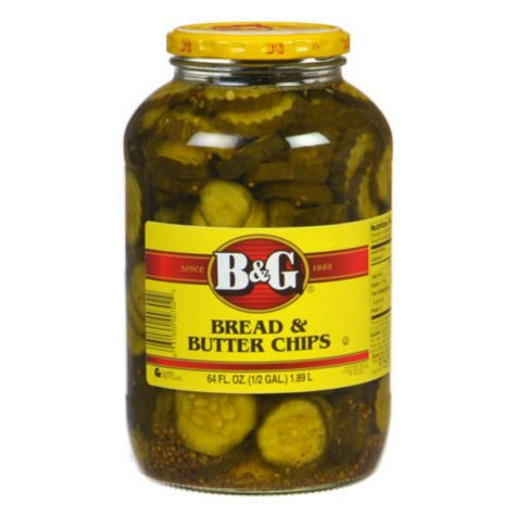 B&G® Bread & Butter Chips  - 64 oz. jar