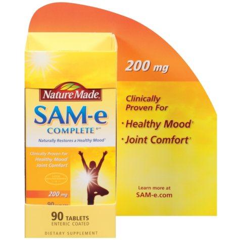 Nature Made® SAM-e Complete®