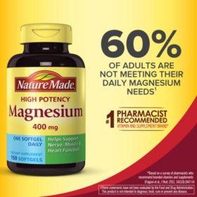 Nature Made Magnesium, 400mg (150 ct.)