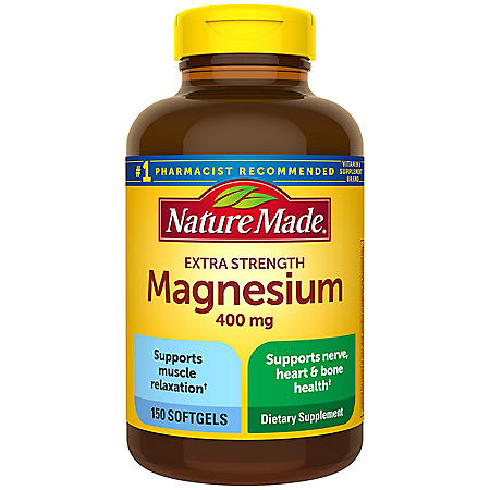 Nature Made Magnesium, 400mg (150 ct.)