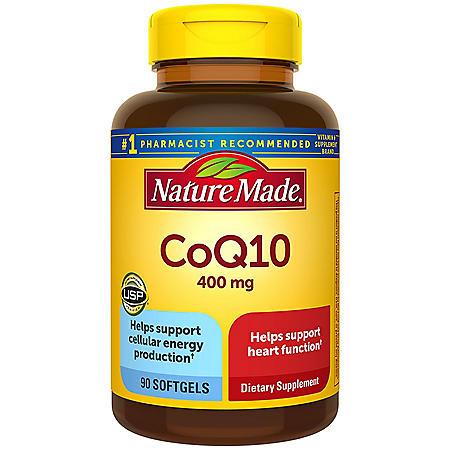 Nature Made CoQ10 400 mg Softgels (90 ct.)