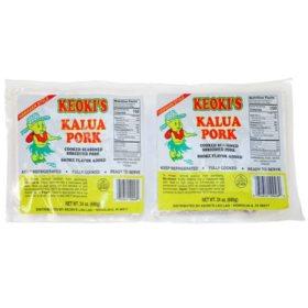 Keoki's Kalua Pork (48 oz. 2 pk.)