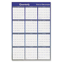 AT-A-GLANCE Vertical/Horizontal Erasable Wall Planner, 32 x 48, 2017
