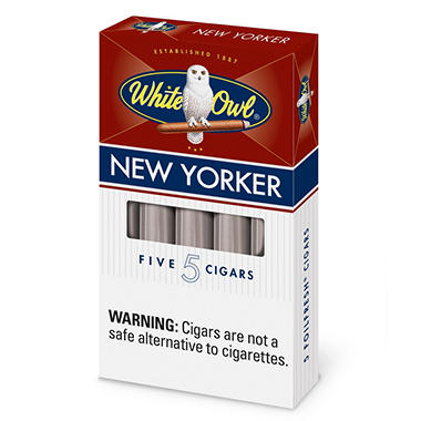 White Owl Black Cigarillos, Prepriced $0.69 (60 ct.)