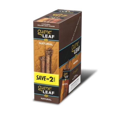 xoffline-Game Leaf Natural Cigars, Prepriced Save on 2 (2 pk., 15 ct.)