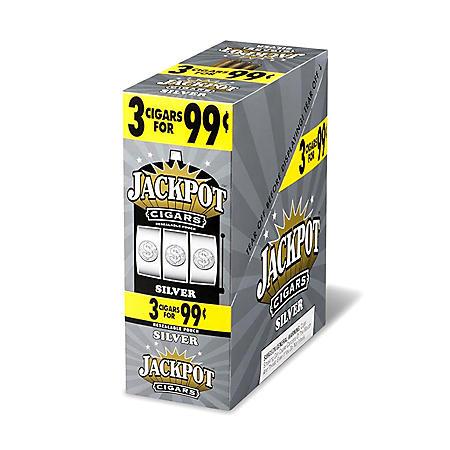Jackpot Silver Cigarillos (15 per pk., 3 pks.)