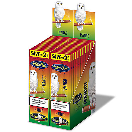 White Owl Cigars, Mango, Save on 2 (2 pk., 30 ct.)