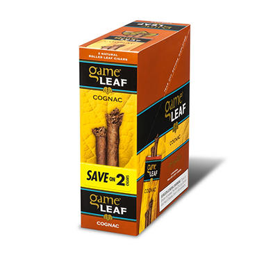 Garcia y Vega Game Leaf Cognac Save on 2 (15/2pk., 30 ct.)