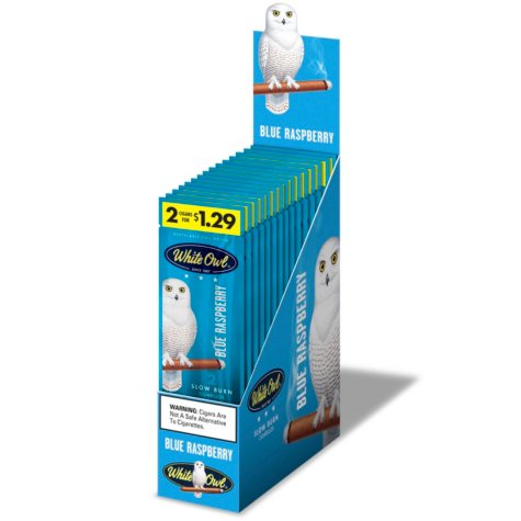 White Owl Cigars, Blue Raspberry, Prepriced 2/$1.29 (2 pk., 15 ct.)