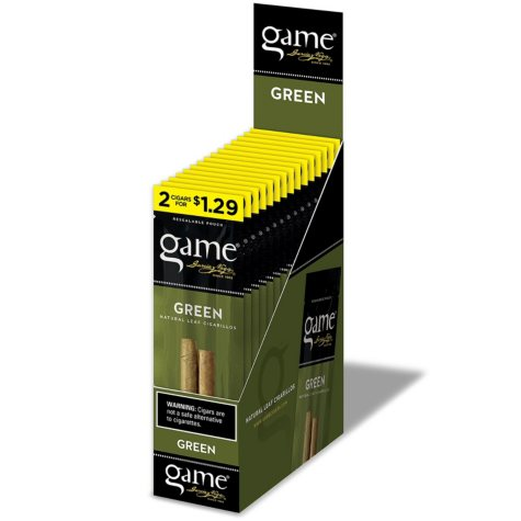 Garcia y Vega Game Cigarillos Green 2 for $1.29 (2 pk., 15 ct.)