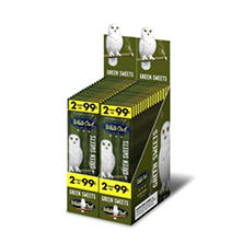 White Owl Cigars, Green Sweets, Prepriced 2/$0.99 (2 pk., 30 ct.)