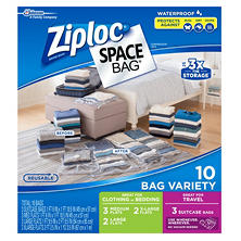 Ziploc Space Bags Combo (10-count)