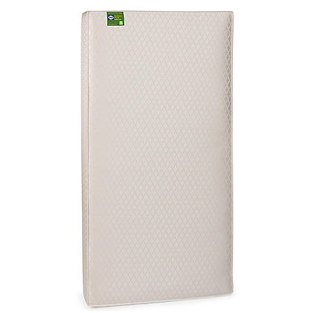 Sealy Soybean Plush Infant/Toddler Crib Mattress