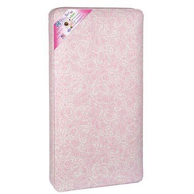 Sealy Ortho Rest Crib Mattress, Pink