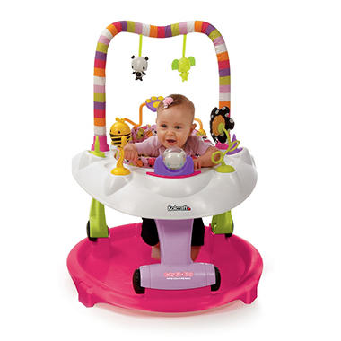 Kolcraft Baby Sit & Step 2-in-1 Activity Center (Choose Your Color)