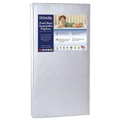 Kolcraft Fresh Start PolyFoam Crib Mattress