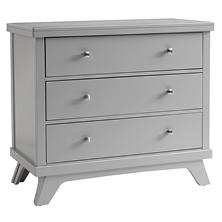 Sealy 3-Drawer Mid-Century Dresser, Gray