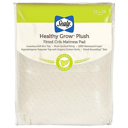 "Sealy Healthy Grow Plush Infant/Toddler Crib Mattress (52"" x 28"" x 8.5"")"