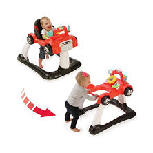 Kolcraft 2-in-1 Activity Walker, Racer Red
