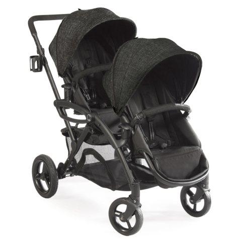 Contours Options Elite Tandem Stroller, Carbon