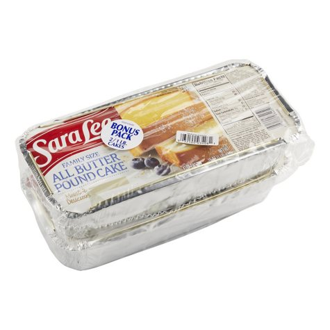 Sara Lee® All Butter Pound Cake - 16 oz. - 2 ct.