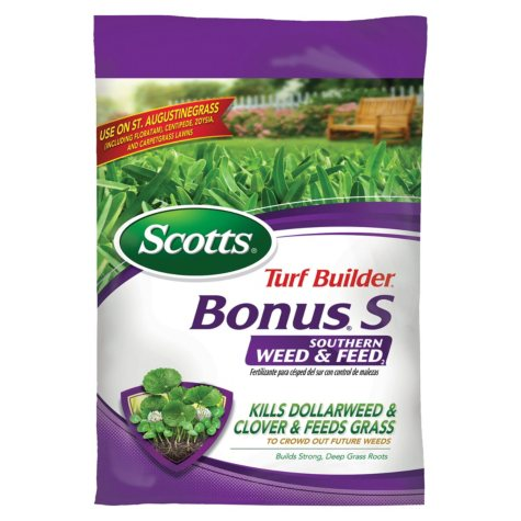 Scotts Turf Builder Bonus S Southern Weed and Feed Fertilizer