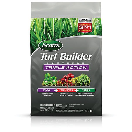 Scotts Turf Builder Southern Triple Action, 33.3 lbs.