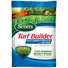 Scotts Turf Builder with Halts Crabgrass Preventer (covers 12K sq. ft.)