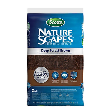 Scotts Nature Scapes Color Enhanced Mulch Deep Forest Brown