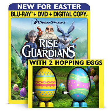 Rise Of The Guardians with Hopping Eggs (Blu-ray + DVD + Digital Copy)(Widescreen)