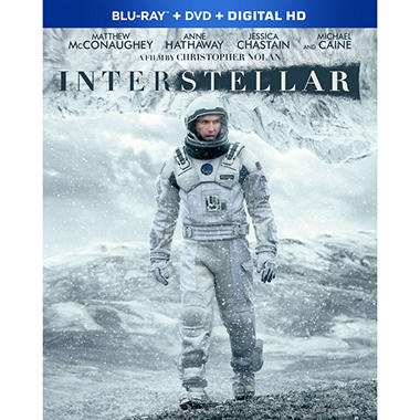 Interstellar [Blu-Ray Combo Pack]