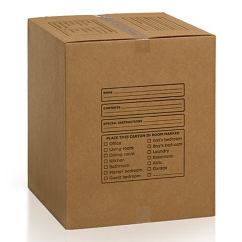 Large Moving Boxes - 10 Boxes