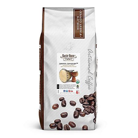 Barrie House Whole Bean Coffee, Jammin Jamaican (40 oz.)