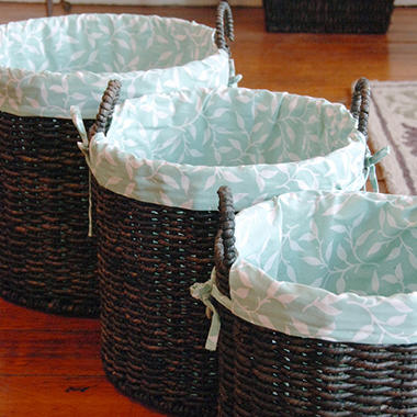 Bethany Round Basket Set - 3 pc.