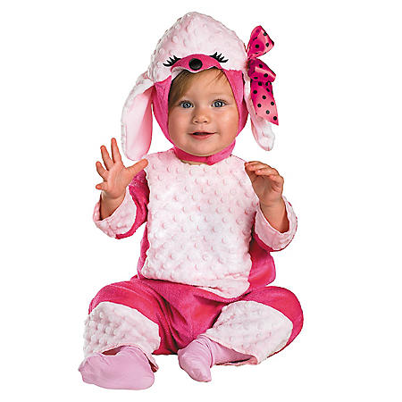 Pink Poodle Costume - 12-18 Months
