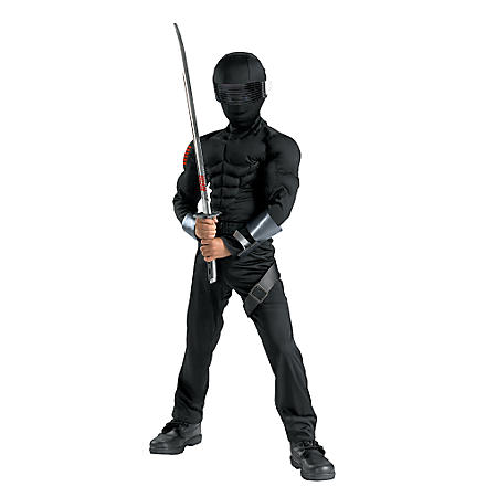 G.I. Joe Snake Eyes Costume Boys